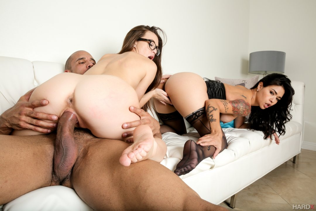 Surprise gang bang porn