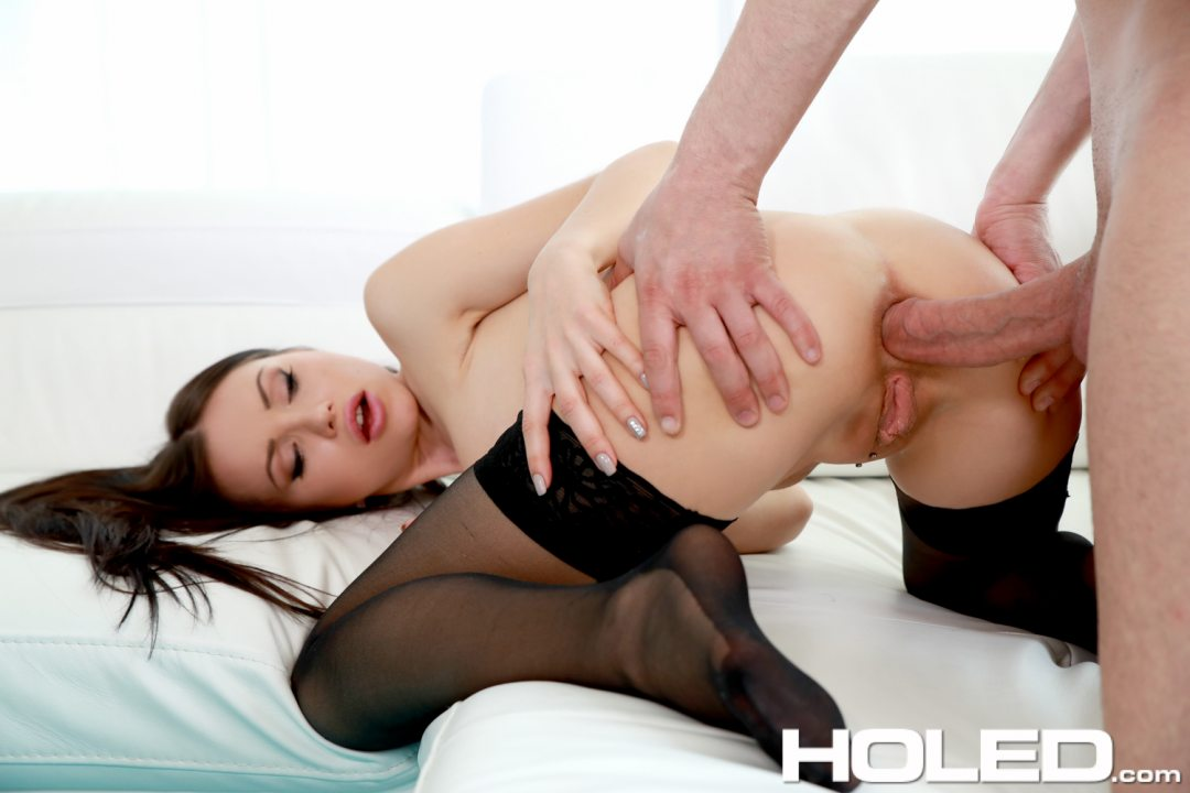 Angel smalls gets creampie from james deen 9