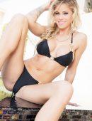 Jessa Rhodes black bikini