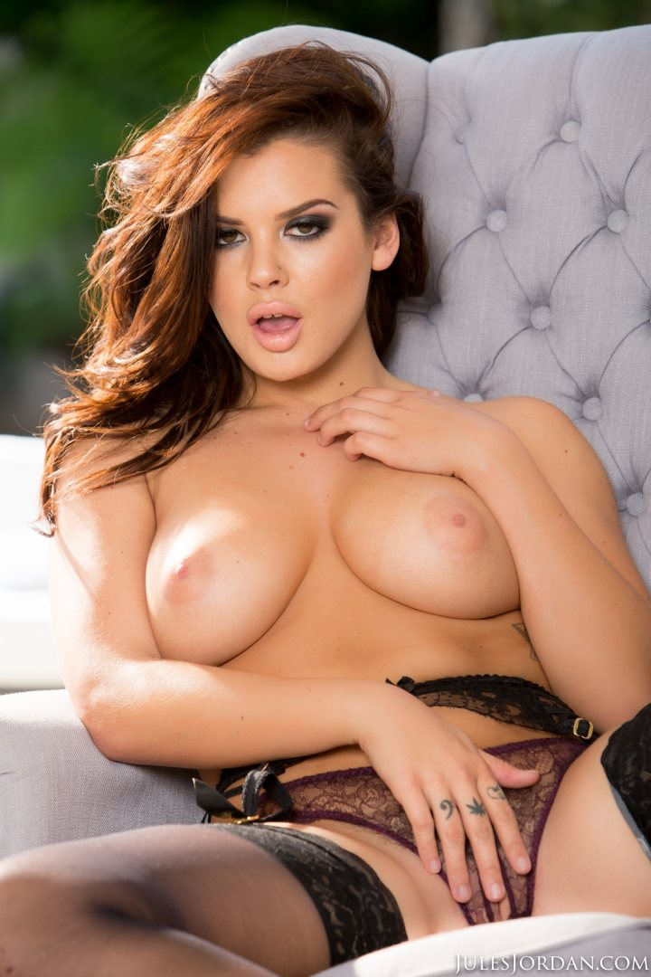 Big Tit Keisha Grey Creampied After Anal Sex In Stockings -1736