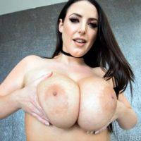 Angela White big tit brunette bbc interracial anal